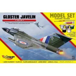 GLOSTER JAVELIN F (AW) Mk 9 [Brytyjski Poddźwiękowy Samolot Przechwytujący]
