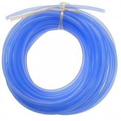 Silikonowy przewód paliwowy 2.5mm / 5.3mm 1m (paliwo żarowe) - niebieski