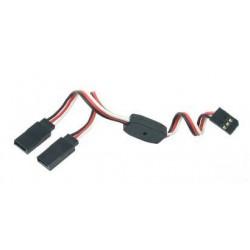 Y - kabel rozgałęziacz Futaba 15cm 22AWG prosty