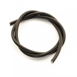 Przewód silikonowy 10AWG/5,26mm2 (czarny) 1m