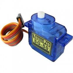 Oryginalne serwo SG50 (micro, 0.7kg/4.8V, 0.1sek/60*)