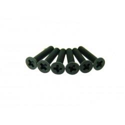 Śruby z łbem płaskim 3x16 6 szt. - 31061