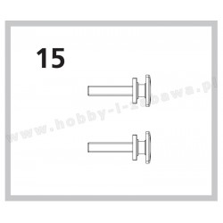 Piko 57410-15 grupa 6 części zamienne serwisowe - bufor 2 szt do TAURUS, PIKO-ET06