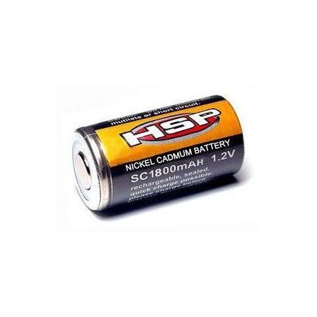 Akumulator (ogniwo) klipsa do świec Ni-Cd 1.2V 1800mAh
