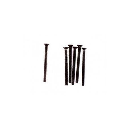 Śruba z łbem płaskim 6 szt. M3x36 - 10251