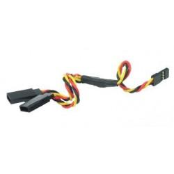 Y - kabel rozgałęziacz JR 30cm 26AWG skręcony