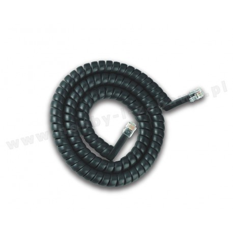 Lenz LY007 80007 XpressNet przewód spiralny 2.5m 6-pin