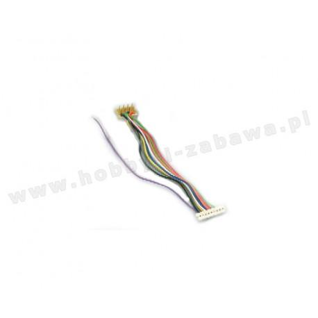 Lenz LY0012 80012 przewód podłączeniowy 9-pin JST - 8-pin NEM652