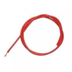 Przewód silikonowy 18AWG/0,82mm2 (czerwony) 1m
