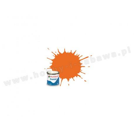 Humbrol AA0196 Orange Gloss 14 ml Enamel Paint farba olejna 18