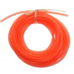 Silikonowy przewód paliwowy 2.5mm / 5.3mm 1m (paliwo żarowe) - czerwony