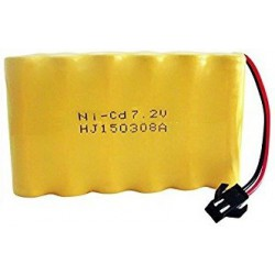 400mAh 7.2V Ni-Cd SM do H-Toys