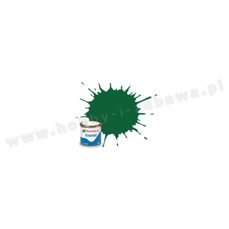 Humbrol AA1328 Light Green Matt 14 ml Enamel Paint farba olejna 120