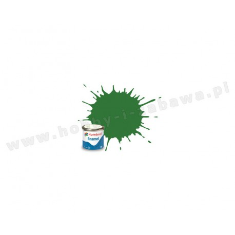 Humbrol AA1448 Mid Green Satin 14 ml Enamel Paint farba olejna 131