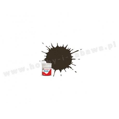 Humbrol AB0010 Service Brown Gloss 14 ml Acrylic Paint farba akrylowa 10