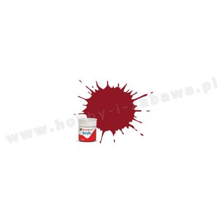 Humbrol AB0020 Crimson Gloss 14 ml Acrylic Paint farba akrylowa 20
