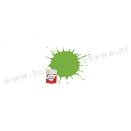 Humbrol AB0038 Lime Gloss 14 ml Acrylic Paint farba akrylowa 38