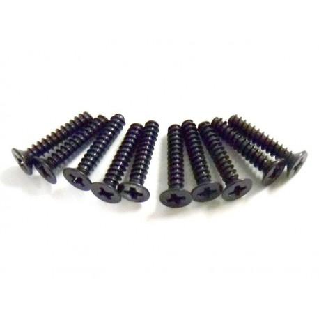 3*16 Śruby z łbem płaskim 10 szt. - 02180