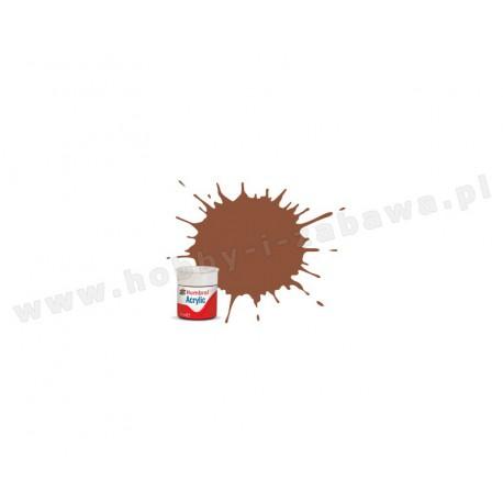 Humbrol AB0070 Brick Red Matt 14 ml Acrylic Paint farba akrylowa 70
