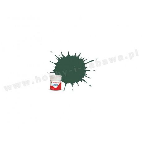 Humbrol AB0116 US Dark Green Matt 14 ml Acrylic Paint farba akrylowa 116