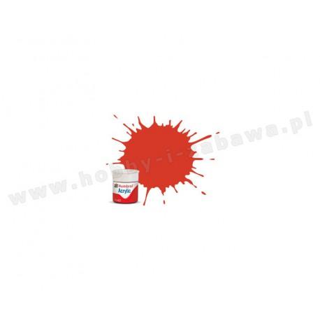 Humbrol AB0174 Signal Red Satin 14 ml Acrylic Paint farba akrylowa 174