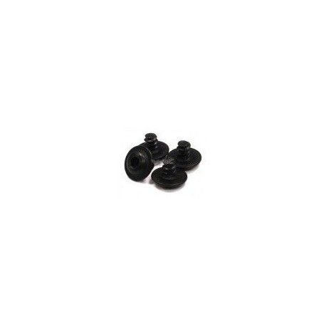 Śruby samogwintujące z pierścieniem 3x6 6 szt. - 10256