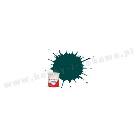 Humbrol AB0239 British Racing Green Gloss 14 ml Acrylic Paint farba akrylowa 239