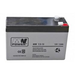 Pb 12V 12Ah bezobsługowy (waga 3.25kg, max. prąd ład. 4A, max. prąd rozład. 135A)