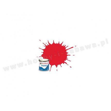 Humbrol AA0206 Bright Red Gloss 14 ml Enamel Paint farba olejna 19