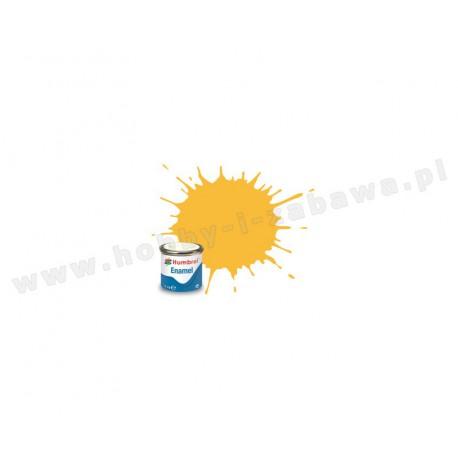 Humbrol AA0268 Trainer Yellow Matt 14 ml Enamel Paint farba olejna 24