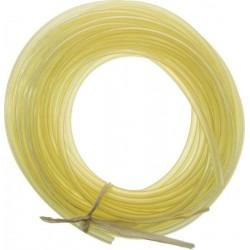 Silikonowy przewód paliwowy (paliwo żarowe) - 1m żółty