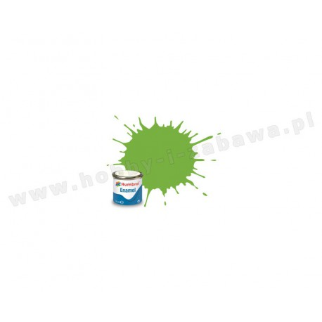 Humbrol AA0415 Lime Gloss 14 ml Enamel Paint farba olejna 38