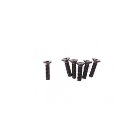 Śruba z łbem płaskim M3x12 6 szt. - 10248