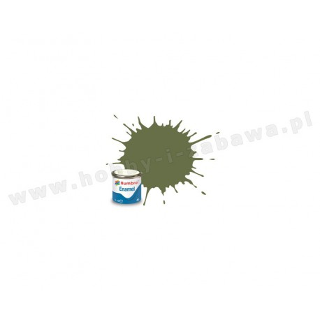 Humbrol AA0881 Grass Green Matt 14 ml Enamel Paint farba olejna 80