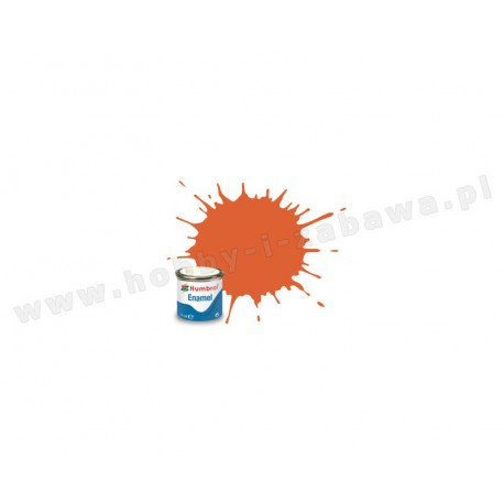 Humbrol AA0905 Orange Lining Matt 14 ml Enamel Paint farba olejna 82