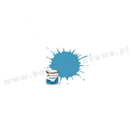 Humbrol AA0984 Middle Blue Matt 14 ml Enamel Paint farba olejna 89