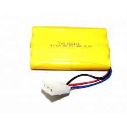 700mAh 9.6V Ni-Cd Tamiya 3pin