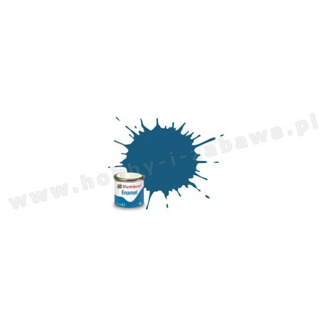 Humbrol AA1701 Azure Blue Matt 14 ml Enamel Paint farba olejna 157