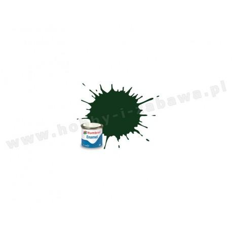 Humbrol AA6330 Dark Green Satin 14 ml Enamel Paint farba olejna 195