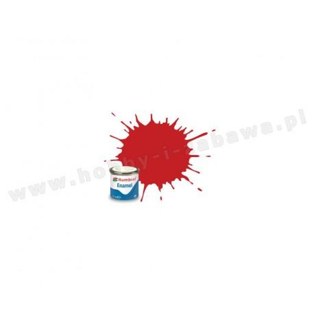 Humbrol AA6608 Italian Red Gloss 14 ml Enamel Paint farba olejna 220