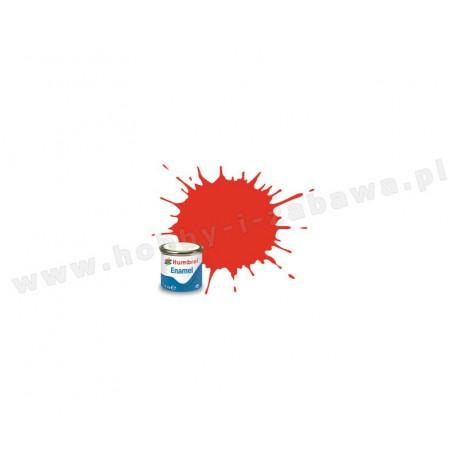 Humbrol AC6027 Red Clear 14 ml Enamel Paint farba olejna 1321