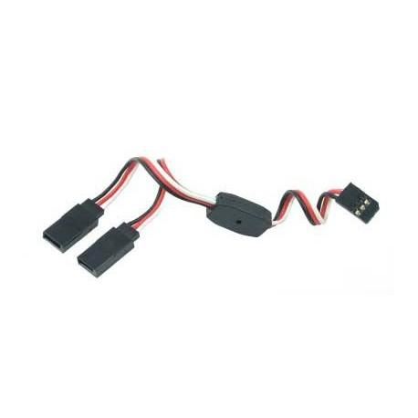 Y - kabel rozgałęziacz Futaba 60cm 22AWG prosty