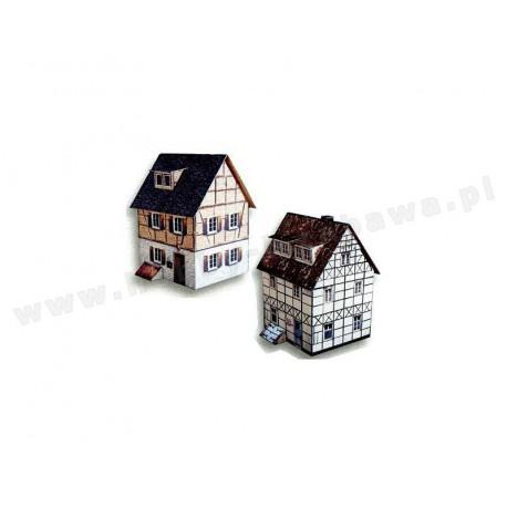 Heki 10020 dwa różne domy skala H0