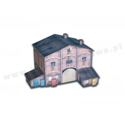 Heki 10611 fabryka z przybudówkami skala H0