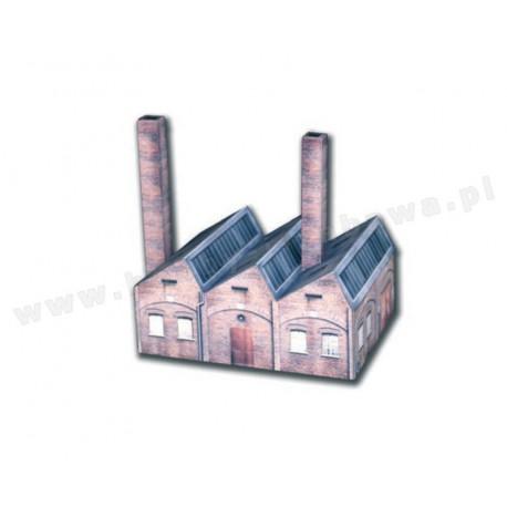 Heki 10613 hala fabryczna skala H0