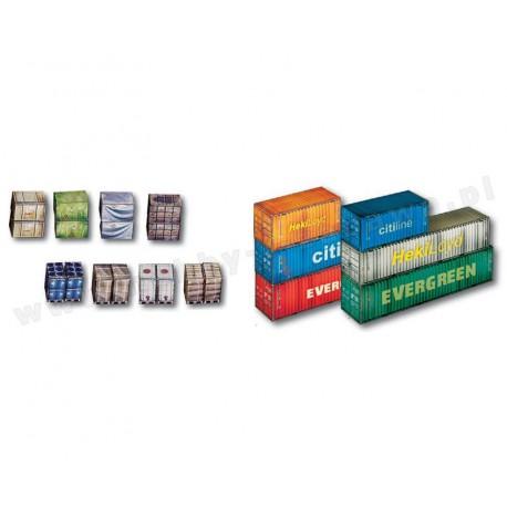 Heki 10650 kontenery i ładunki skala H0