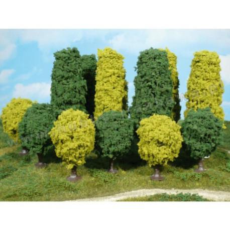 Heki 1030 drzewa alejowe zielone 6-7 cm 4 szt