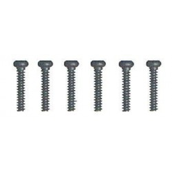 Round Head Self Tapping Hex Screw 3x10 8P - 85175
