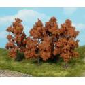 Heki 1169 drzewa owocowe jesienią 8 cm 4 szt