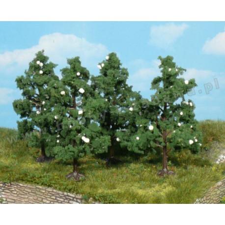 Heki 1170 kwitnące drzewa owocowe 8 cm 4 szt